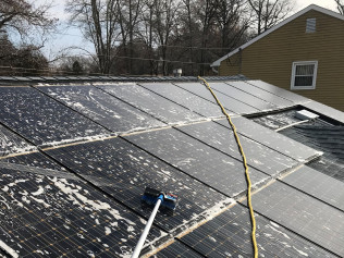 New solar panel installation in Cherry Hill, NJ or King and Prussia, PA